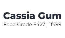 Cassia Gum Food Grade | Food and Pet Food – E427 | 1F499 Logo